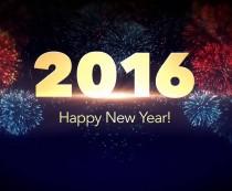 2016 per un felice anno nuovo