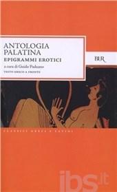 Copertina del volume dell'Antologia Palatina che si occupa degli epigrammi erotici