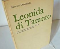 Copertina della traduzione di Leonida di Taranto, a cura di Salvatore Quasimodo